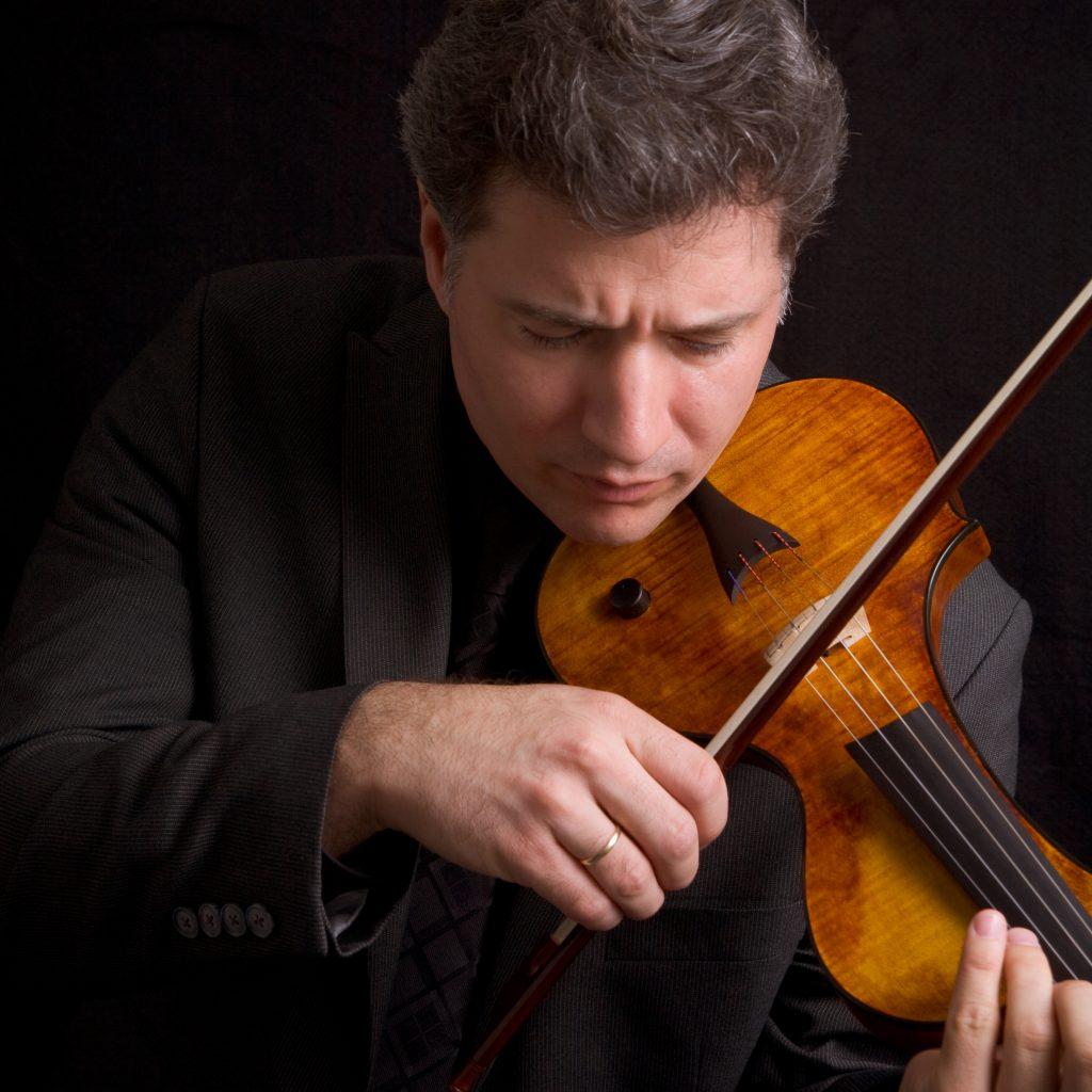 violinist Zachary Carrettin