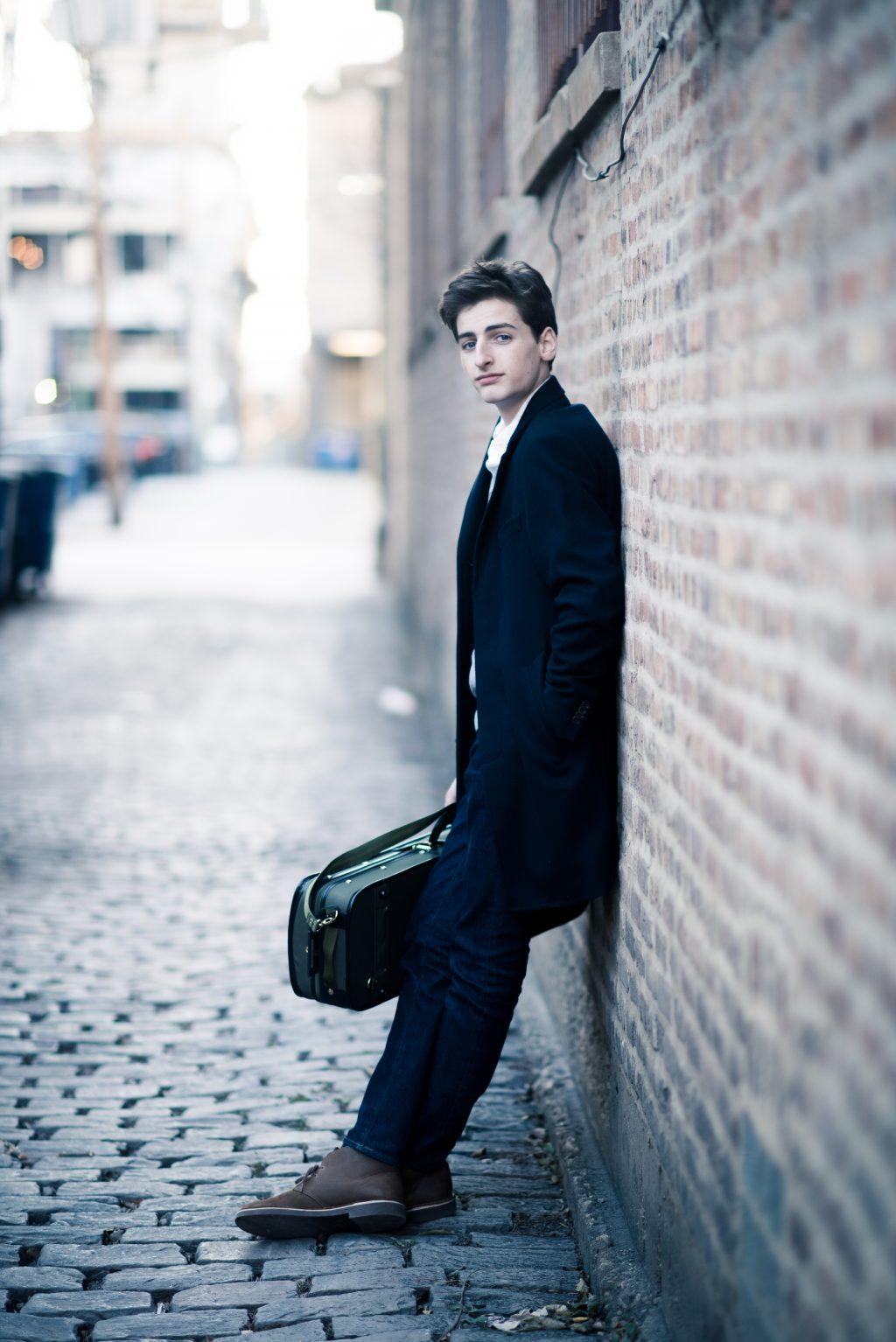 violinist Joshua Brown